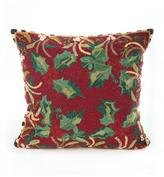 Mackenzie Childs MacKenzie-Childs Holly & Berry Beaded Pillow
