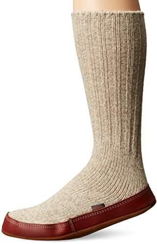 Acorn Unisex Slipper Sock,S