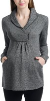 Women's Kimi And Kai Sadie Shawl Collar Maternity Sweatshirt