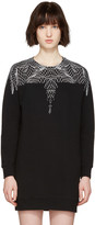 Marcelo Burlon County of Milan Black Mercedes Dress