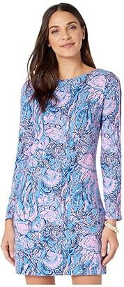 Lilly Pulitzer Beline Dress (Lapis Lazuli Horseshoe Bay) Women's Clothing