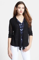Nic+Zoe Women's '4-Way' Convertible Three Quarter Sleeve Cardigan