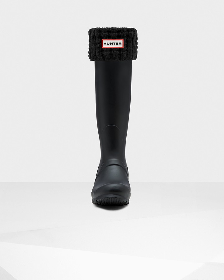 Thumbnail for your product : Hunter Original Waffle Roped Tall Boot Socks