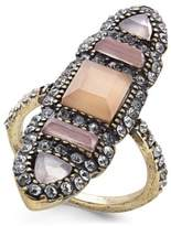 INC International Concepts I.N.C. Brass Multi-Stone Ring, Created for Macy's