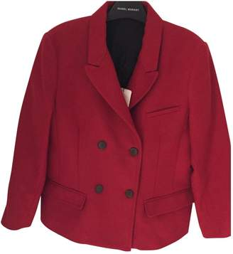 Laurence Dolige Red Wool Jacket for Women