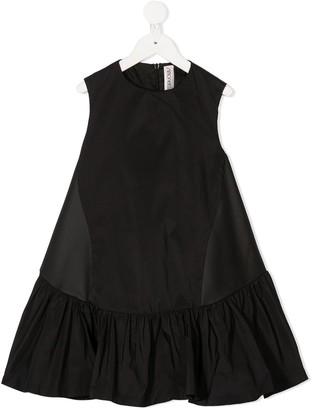 Simonetta ruffled A-line skirt