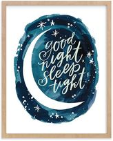 Pottery Barn Kids Midnight Wall Art by Minted(R) 8x10