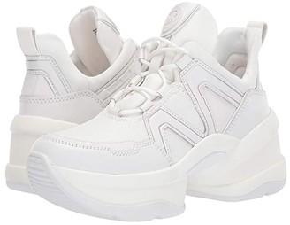 MICHAEL Michael Kors Olympia Trainer (Optic White 1) Women's Shoes