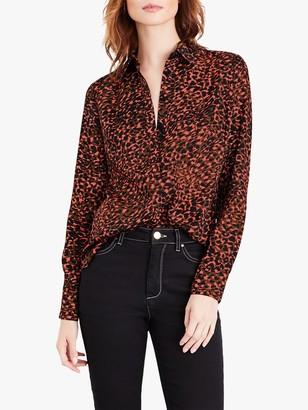 Damsel in a Dress Mayumi Leopard Print Shirt, Multi