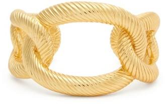 Aurelie Bidermann Amaree 18kt Gold-plated Cuff - Gold