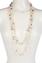 Carolee Mix Beaded Rope Necklace