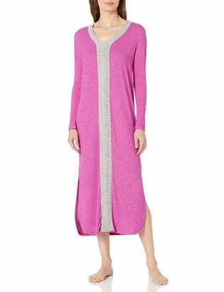 Karen Neuburger Women's Long Sleeve Maxi Dress Sleepshirt Pajama PJ