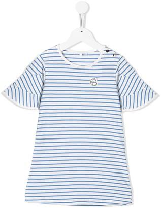 Chloé Kids Striped Shift Dress