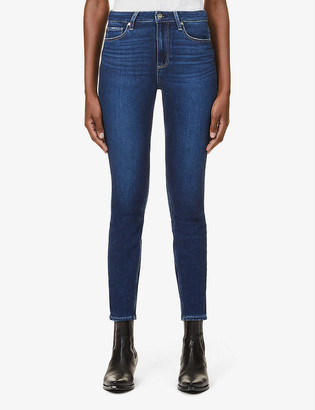 Paige High Rise Muse skinny high-rise stretch-denim jeans