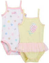 Absorba Strawberry Tutti Frutti Tank Bodysuit - Pack of 2 (Baby Girls)