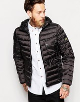 Barbour Ouston Hooded Quilt Jacket