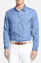 Tommy Bahama Men's Big & Tall 'Sea Glass Breezer' Linen Sport Shirt