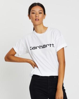 Carhartt Short Sleeve Script T-Shirt