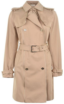 MICHAEL Michael Kors Gold piping trench