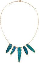 Lana 14k Large Opal Bib Necklace