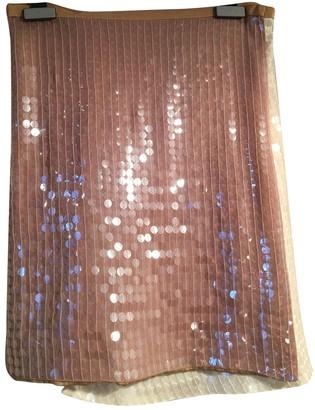 Emporio Armani Ecru Silk Skirt for Women