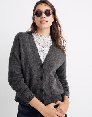 Madewell Short Kent Ex-Boyfriend Cardigan Sweater