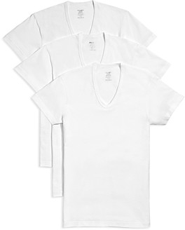 2xist Slim Fit V-Neck Tee, Pack of 3