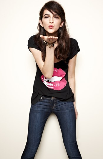 Wildfox Couture 'Glamour Puss' Tee (Nordstrom Exclusive)