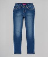 YMI Jeanswear Medium Wash Skinny Jeans - Girls