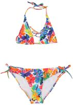 Milly Minis Leafs Printed Lycra Bikini