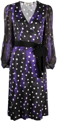 Diane von Furstenberg Belted Midi Dress