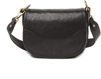 Frye Lucy Leather Saddle Bag