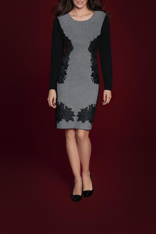 Katherine Barclay Long Sleeve Dress
