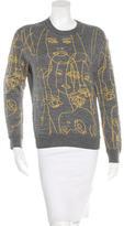 Stella McCartney 2014 Face Motif Sweatshirt