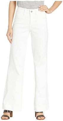 NYDJ Teresa Trousers in Optic White