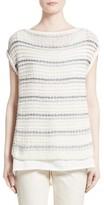 Lafayette 148 New York Women's Stripe Sweater