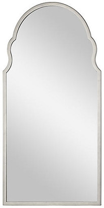 Bunny Williams Home Anna Wall Mirror - Distressed Silver Leaf