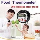 Big Bazaar Bazaar 304 Stainless Steel Food BBQ Probe Thermometer Barbecue Meat Thermometer Kitchen Measuring Tool