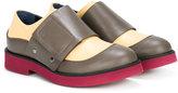 Marni colour block loafers