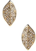 Amrita Singh Crystal Leaf Stud Earrings