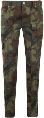 Balmain Slim Gabardine Cargo Pants 15cm Ball Bio