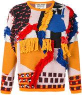 Henrik Vibskov abstract textured jumper