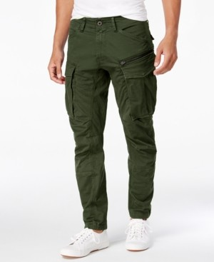 G Star Men's Rovic 3D Straight Tapered Fit Cargo Pants