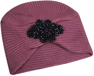 Non Signã© / Unsigned Pink Wool Hats