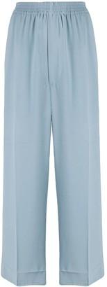 MM6 MAISON MARGIELA Wide-Leg Cropped Trousers