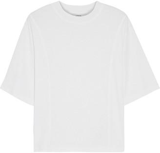 Vince Slub Tencel, Linen And Cotton-blend Jersey T-shirt