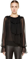 Thomas Wylde Foot Soldier Blouse in Tarmac
