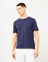 Hawksmill Garment Dyed Pocket T-Shirt Navy