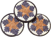 All Across Africa S/6 Dancer Coasters, Brown Sugar
