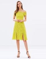 Whistles Off-Shoulder Lace Dress